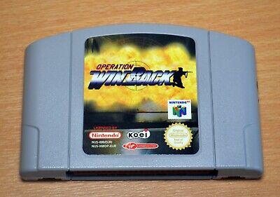 Operation: WinBack - Nintendo 64 N64 Original Game UK PAL