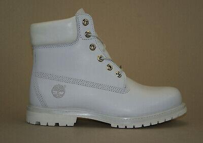 Timberland 6 Inch Premium Boots Gr 40 US 9W Waterproof Damen Schnürstiefel (Damen Weiß Timberland Boots)