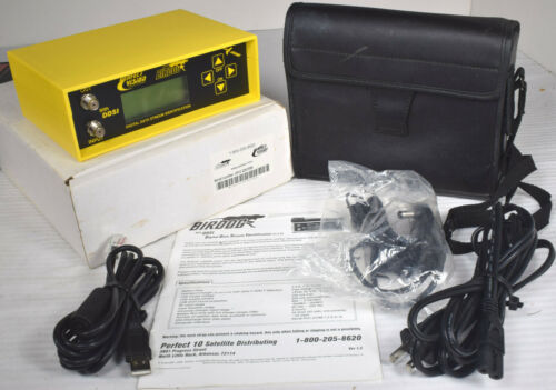 Birdog Vision-10 Satellite TV Digital Data System Identification Signal Finder