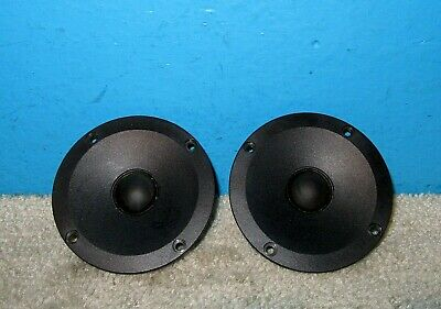 "2 Sony 1-504-369-11 1"" Dome Tweeters for SS-M7 Scan Speak Denmark 4Ω Free Ship"