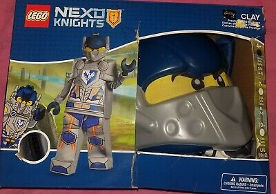 NEW Boy's Lego Nexo Knights Clay Prestige Halloween Costume