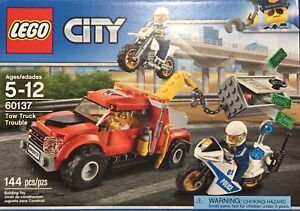 Lego - Brand New - Tow Truck Trouble - 60137