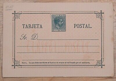 MayfairStamps Habana 2 Cents Famous Person Orange Trim Mint Stationery Card wwo7