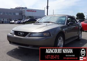2002 Ford Mustang CONVERTIBLE|MANUAL|LOW KM|AS-IS SUPERSAVER|