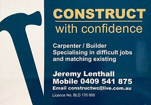 CARPENTER / LICENSED BUILDER Glenelg Holdfast Bay Preview
