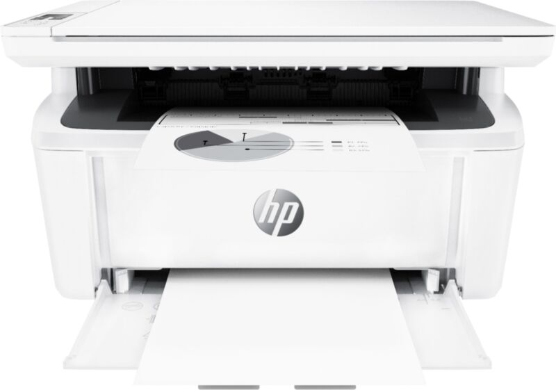 HP - LaserJet Pro MFP M29W Wireless Black-and-White All-In-One Laser Printer ...