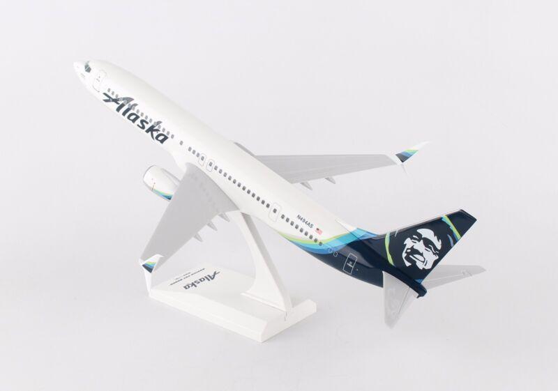 SkyMarks Alaska Boeing 737-900 SKR875 1/130, REG# N494AS. New