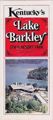 1977 Lake Barkley State Park Brochure