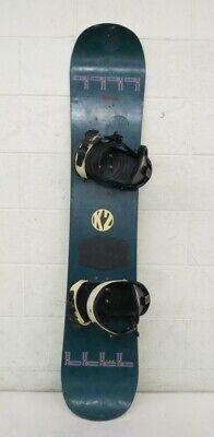 Vintage K2 HC 138cm Twin-Tip All-Mountain Snowboard w/K2 Bindings GREAT LOOK for sale  Boulder