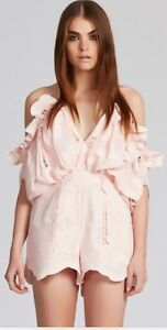 Alice McCall Shake It Off Playsuit - Blush Greenwood Joondalup Area Preview