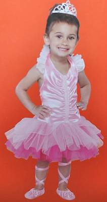 NWT-Toddler Girls Petite Ballerina Pink Halloween Dress Costume-size 12/18 mths - Toddlers Halloween Music