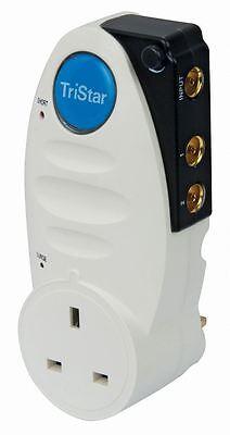Philex TriStar 2 Way Plug Through TV Signal Amplifier
