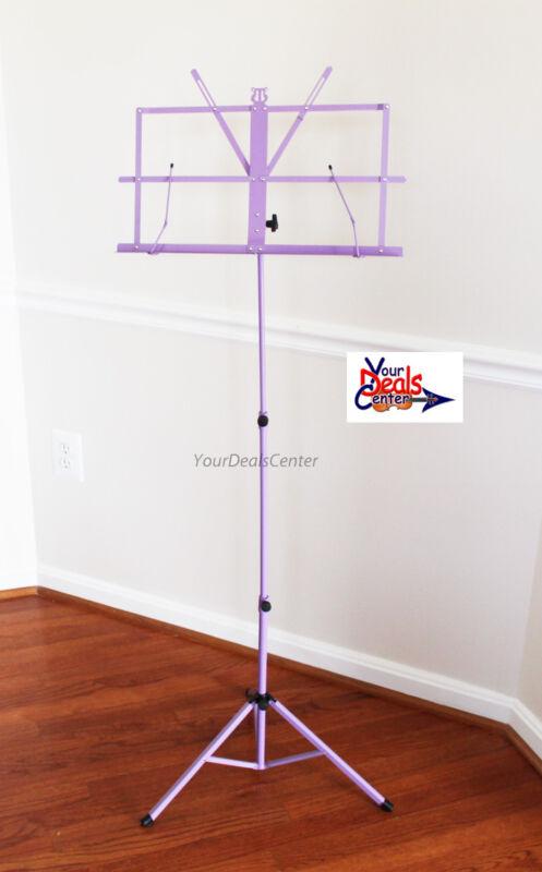 Portable Folding Sheet Musc Stand/ Carrying Bag-Purple