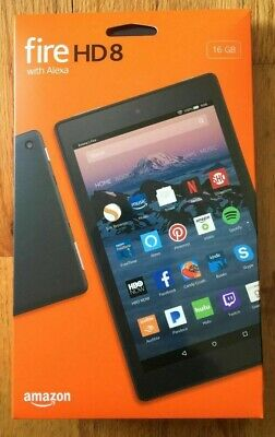 Amazon Fire HD 8 (7th Generation) 16GB Wi-Fi 8 Inch - Black - NEW