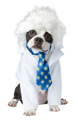 Scientist Lab Coat Al-Bark Einstein Pet Dog Costume