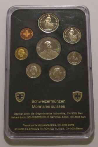 Switzerland 8 Coin Proof Set 1981
