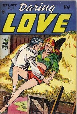 Daring Love #1 Photocopy Comic Book, 1st Steve Ditko Art