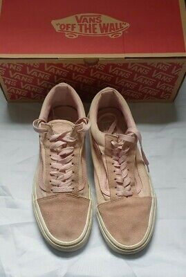 Vans Old Skool - Pink Suede - Size 9 UK