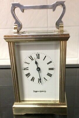 VINTAGE MAPPIN AND WEBB CARRIAGE CLOCK