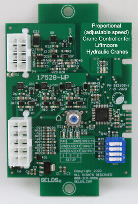 Crane Control For Liftmoore Hydraulic Cranes Models 10321640255036605080