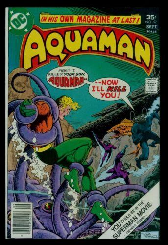 DC Comics AQUAMAN #57 Black Manta VFN 8.0