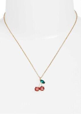KATE SPADE New York Ma Chérie Cherry Necklace