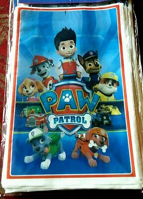 25 Paw Patrol Party Favor Bags Treat Loot Bags Goodie bags Party Supplies](Patrol Party)
