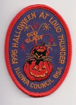 J BSA, 1995 Halloween at Camp Loud Thunder, Illowa Council Iowa IA](Halloween Council)