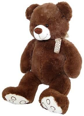 Wagner 9037 - XL Plüschbär Teddy Bär 55 cm groß braun Teddybär Kuschelbär riesen