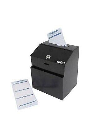 Suggestion Box With Lock Adir