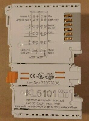 Beckhoff - Kl5101 Incremental Encoder Interface