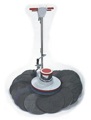 2 Radial Steel Wool Floor (12 pack Radial Steel Wool Floor Pads, Grade 2, Fine, 17 in Diameter (GMT 120172) )