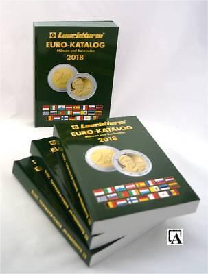 NEU! EURO-Münzen-Katalog 2018 von Leuchtturm Münzkatalog catalogue coins 1.12.17