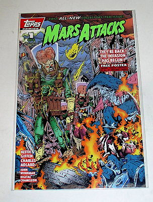 Mars Attacks  1  Classic Movie  Flip Book With The Poster