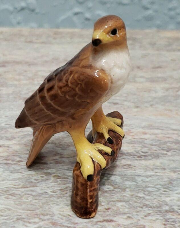 Vintage Hagen Renaker Miniature Hawk Figurine