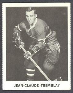 1965-COCA-COLA-COKE-J-C-TREMBLAY-MONTREAL-CANADIENS-HOCKEY-CARD