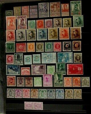 Beau lot de timbres semi classique neuf* trace de charnière