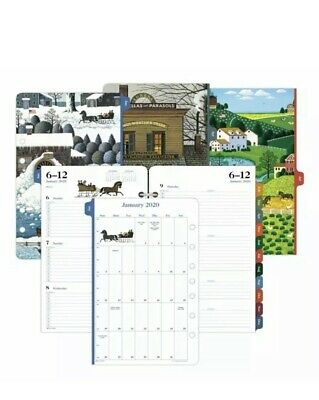 Day-timer Charles Wysocki Americana Planner Refill Weekly 5.5x8.5 Jan-dec 2020