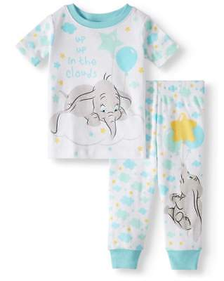 Disney Baby Pajamas (DISNEY DUMBO UP UP IN THE CLOUDS BABY PAJAMAS SIZE 9 12 18 24 MONTHS)
