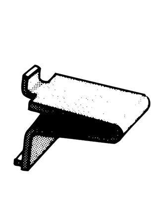Steel Pilaster Shelf Support by Knape & Vogt Mfg Co