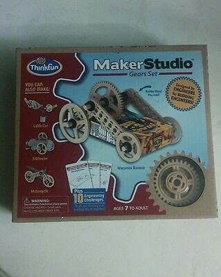 Studio Gears (THINKFUN MAKER STUDIO GEARS SET SCIENCE EXPERIMENT NEW IN)