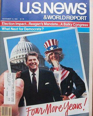 Us News   World Report Magazine November 19 1984