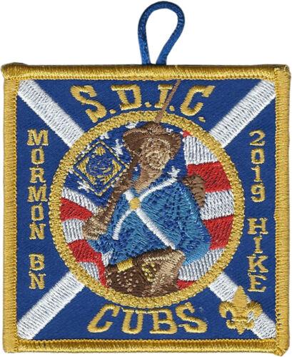 Boy Scout Patch: 2019 Mormon Bn Cub Scout Hike San Diego-Imperial Council (LDS)