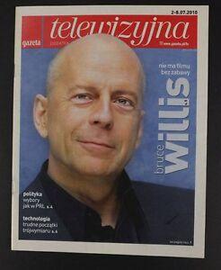 BRUCE WILLIS mag.FRONT cover 2010 Poland, Drew Barrymore - europe, Polska - Zwroty są przyjmowane - europe, Polska
