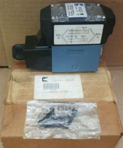 Continental Hydraulics Directional Control Valve 2-Position 120V 5000PSI Viton