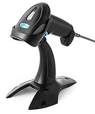 Barcode Scanner With Stand Baoshare Wireless 1d 2.4g Handheld Usb Laser Reader