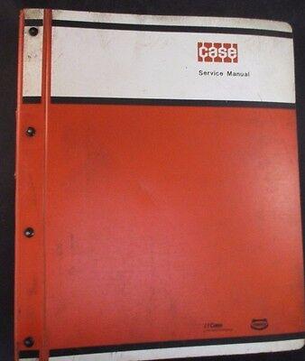 Case 580 Construction King Loader Backhoe Tractor Service Manual