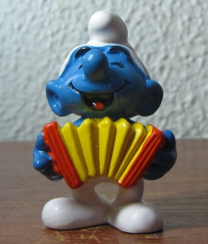 Smurfs - 20225 - MINT - Accordion Smurf!