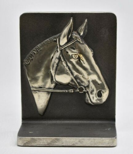 Vintage MCM Bruce Fox Horse Book End Horses Mid Century Décor Bookend Equestrian
