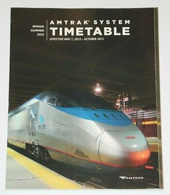 AMTRAK National System TimeTable Spring/Summer 2012 Summer 2012 Collection